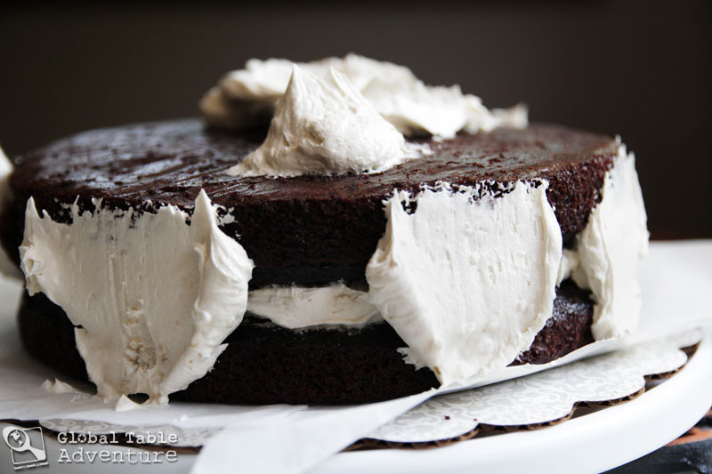Dark Chocolate Guinness Cake with Bailey's Buttercream | Global ...