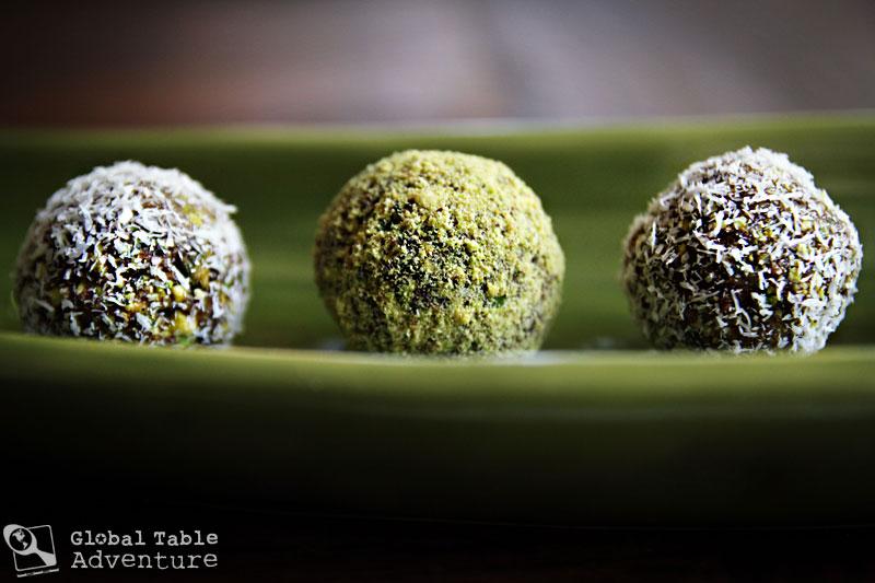 Pistachio Date Balls | Global Table Adventure