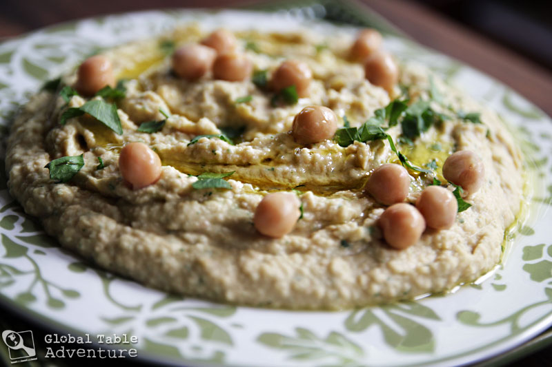 Lemon-Garlic Hummus | Global Table Adventure