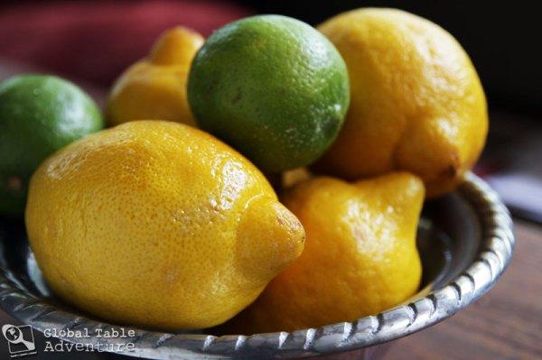 Lemon-Limeade with fresh mint | Israeli Juice | Global Table Adventure