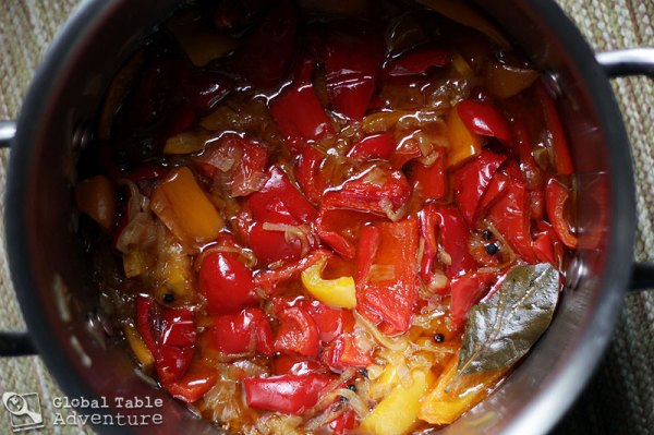 Moldovan Preserved Peppers | Global Table Adventure