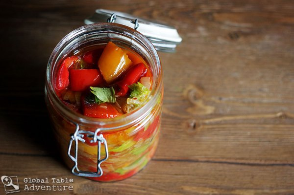 moldovan preserved peppers recipe