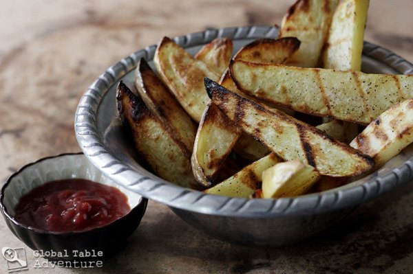 Grilled Island Fries | Global Table Adventure