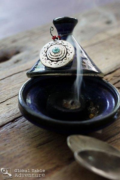 Frankincense Ice Cream | Global Table Adventure
