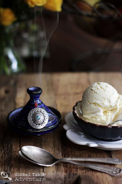 Frankincense Ice Cream | Global Table Adventure