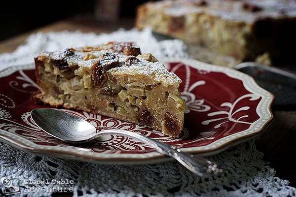 Fig & Honey Apple Polenta Cake | Bustrengo | Global Table ...