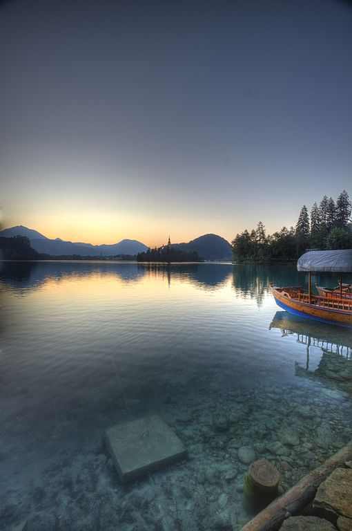 Lake Bled in Slovenia. Photo by Bas Lammers.