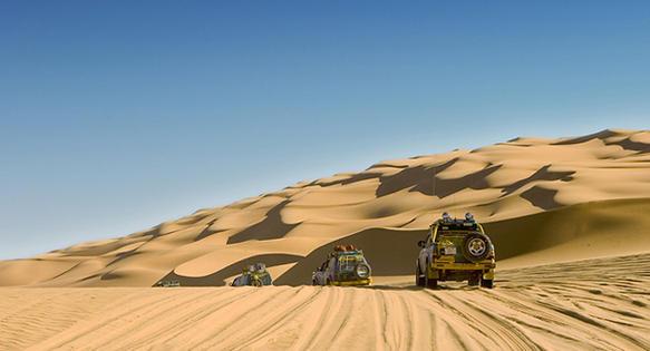The desert of east Sudan. Photo by Sharif Baasher.