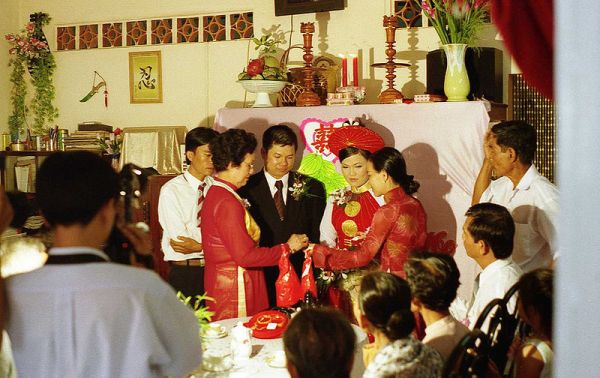 A Vietnamese country wedding. Photo by Mike Fernwood.