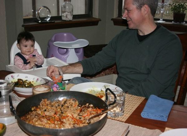 Ava eats Afghanistan