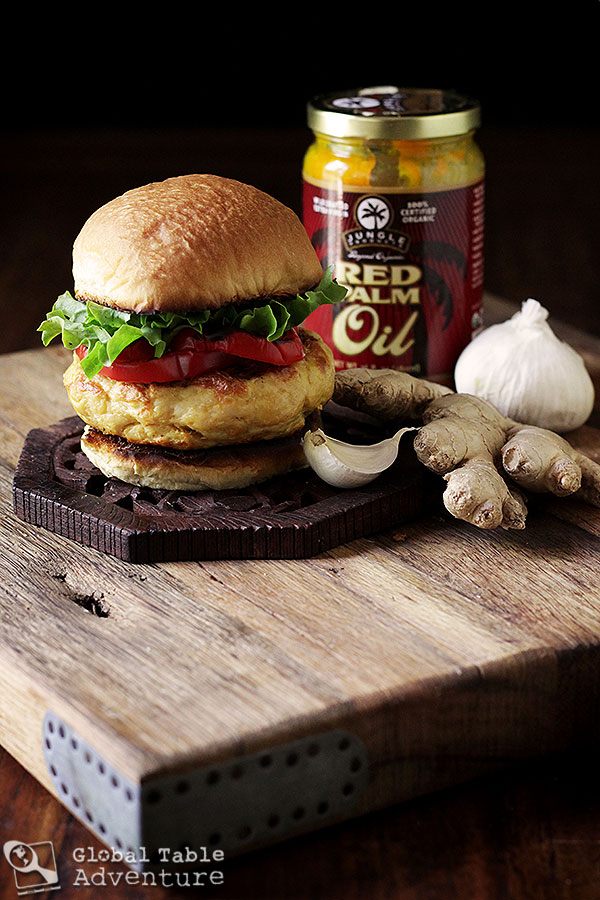 The West African: Spicy Chicken Burger | The World in 12 Burgers