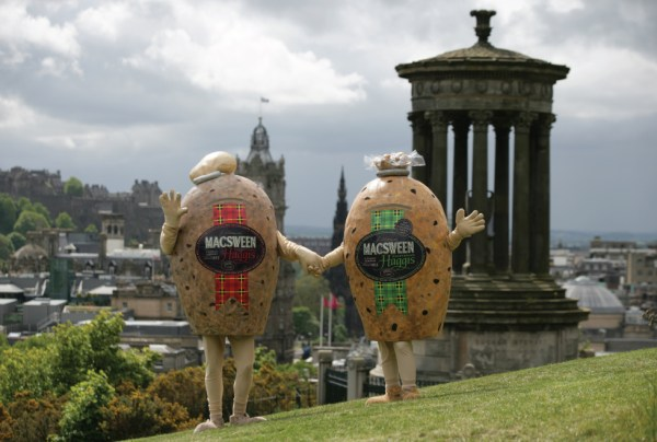Haggis (15 Halloween Costumes Made from the World's Most Iconic Foods)