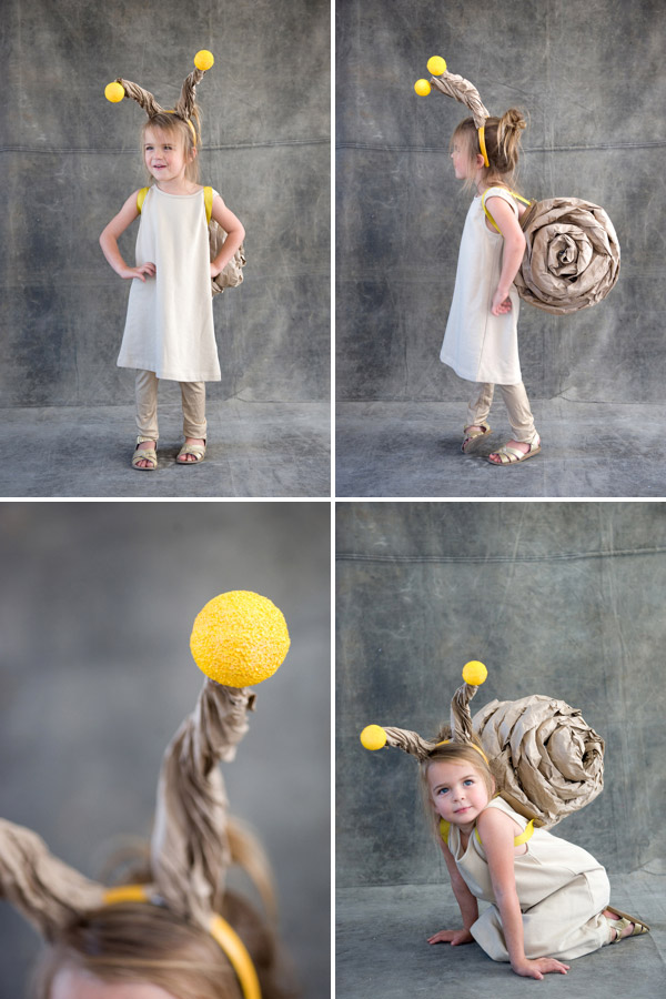 Snail Costume (15 Halloween Costumes Made from the World's Most Iconic Foods)