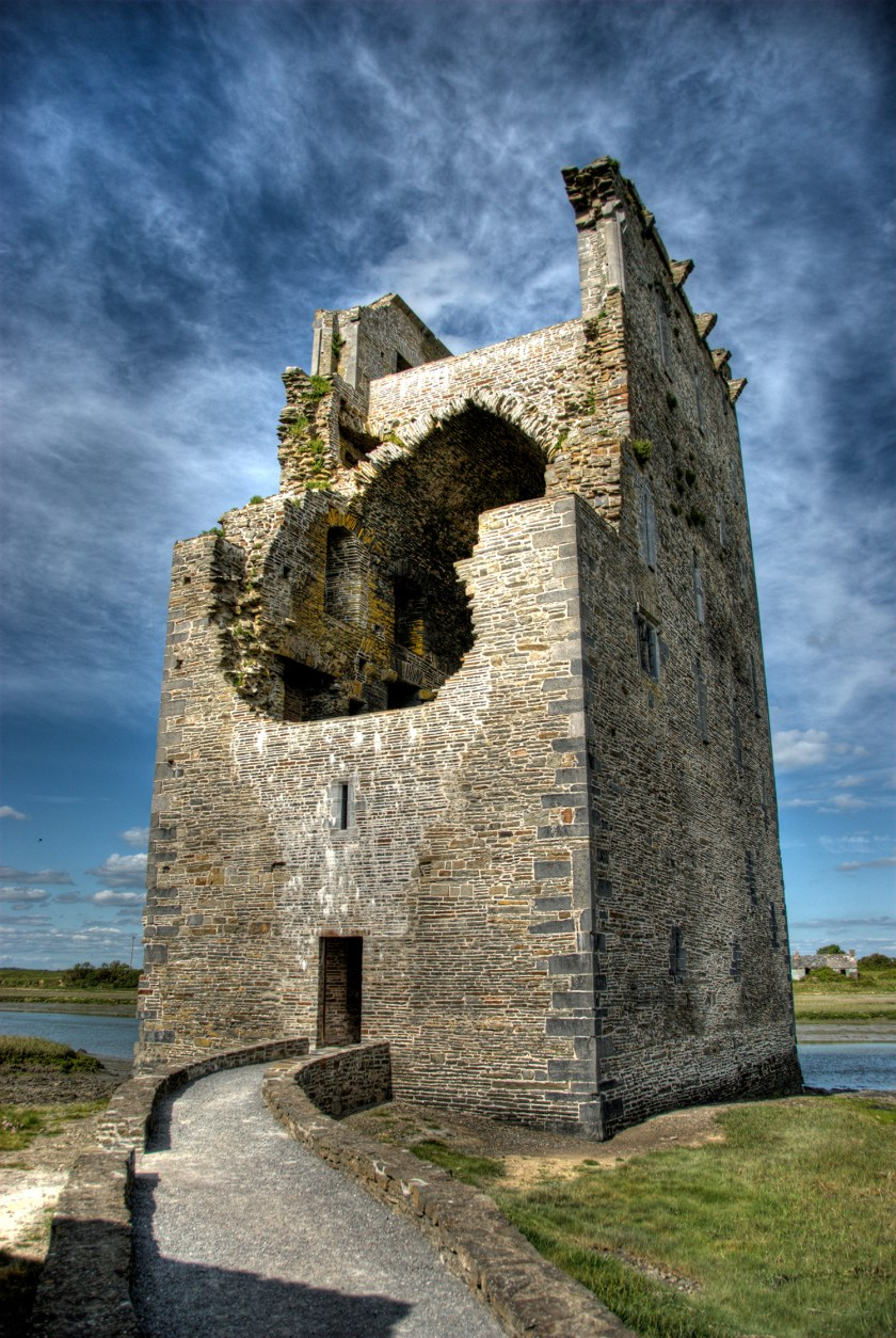 Photo of Carrigafoyle Castle, Co. Kerry, Republic of Ireland.