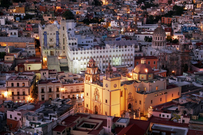 Guanajuato, Mexico at night. Photo by Thomas Castelazo.