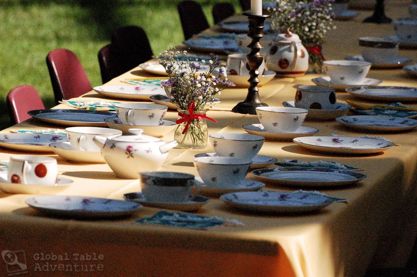 Mary Poppins Tea Party: Decor