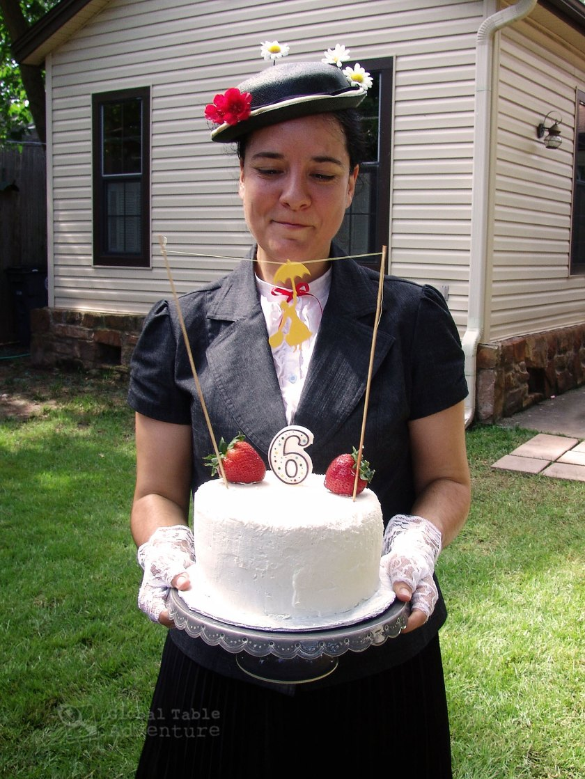 Mary Poppins Birthday Cake