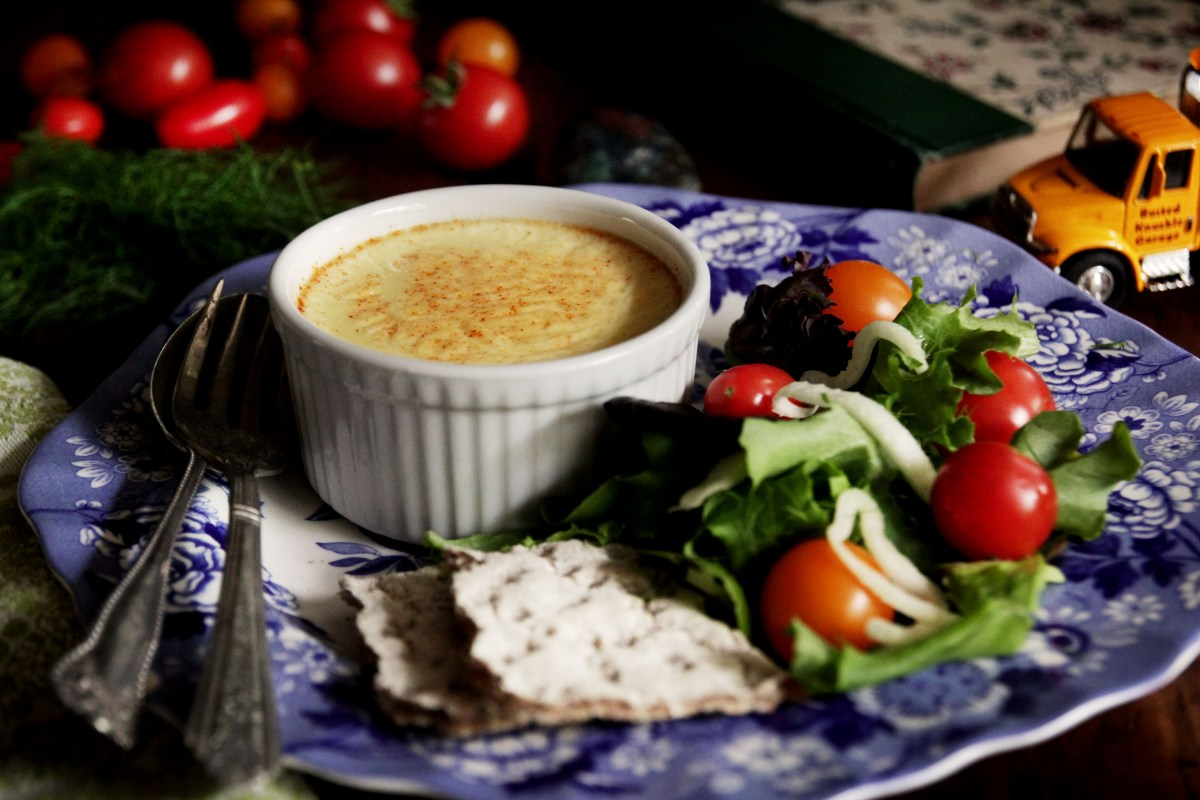 Swedish Cheese Custard Recipe