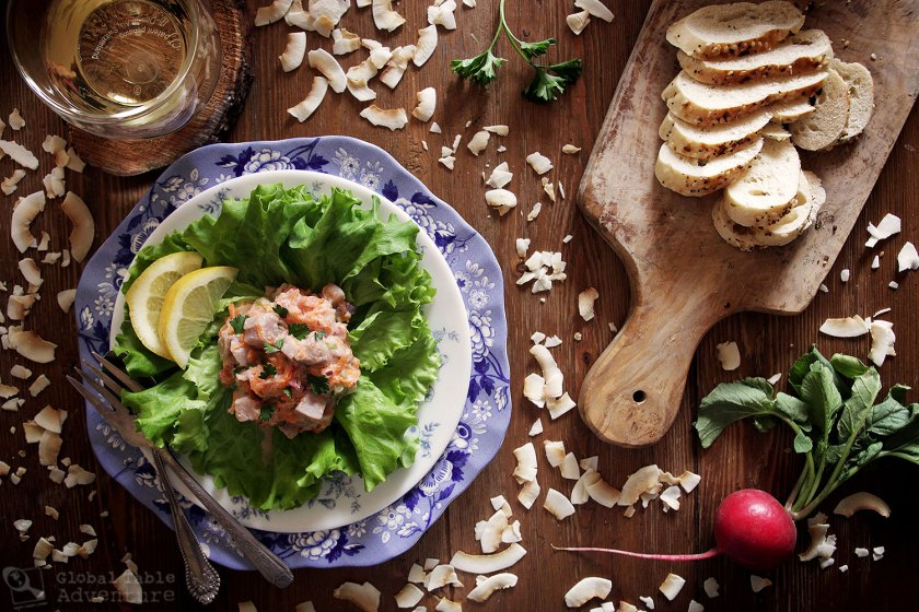 Maori Fish Salad | New Zealand