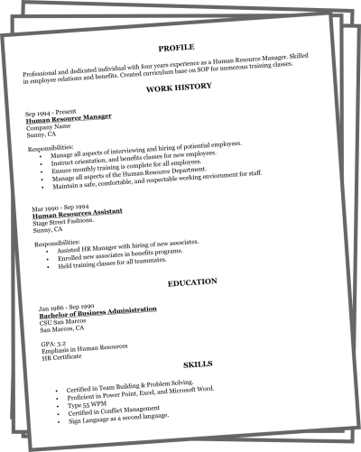 resume critique online