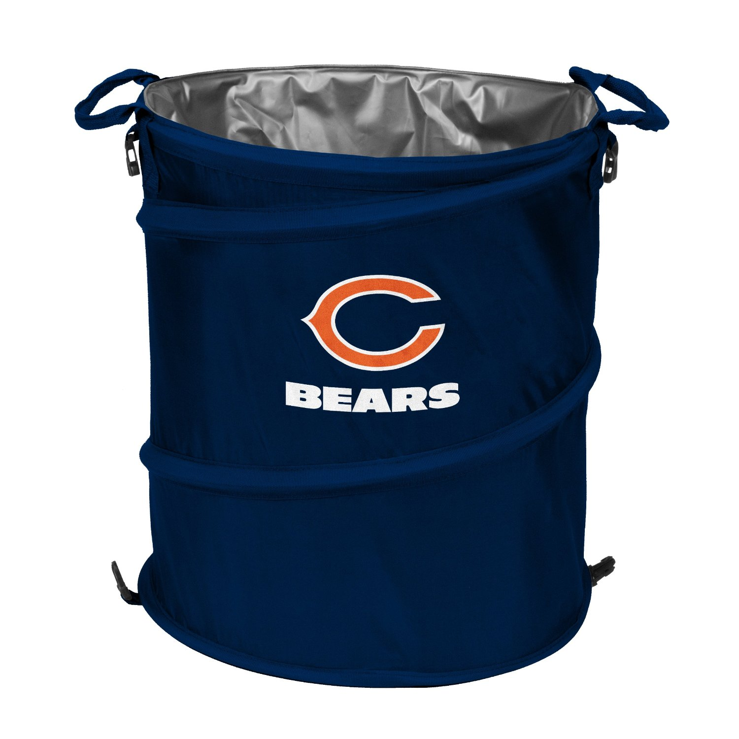 Collapsible Trash Cans Chicago Bears Nfl Trash Cans Chicago Bears Nfl