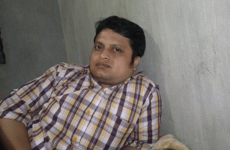 Ananta Bijoy Das. Image from his Facebook page