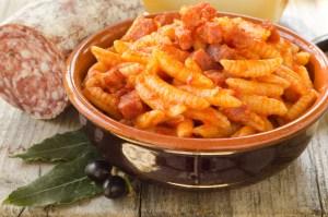 Malloreddus Sardi con pomodoro,salsiccia e peperoncino