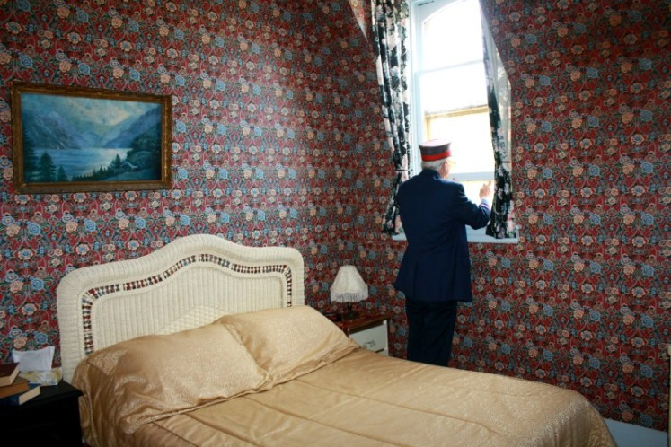 10 Hotel più strani del mondo: Train Station Inn