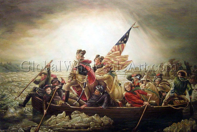 Emanuel Gottlieb Leutze - George Washington Crossing The Delaware