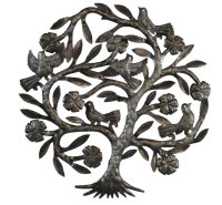 Haitian Metal Wall Art Handcrafted Sculpture Hanging ...