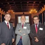 Grzegorz Burek, Tomasz Zubilewicz, Jarosław Kotyza - prowadzący Forum Energia w Gminie