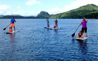 Best Day Trips from Manila: Stand Up Paddle Boarding