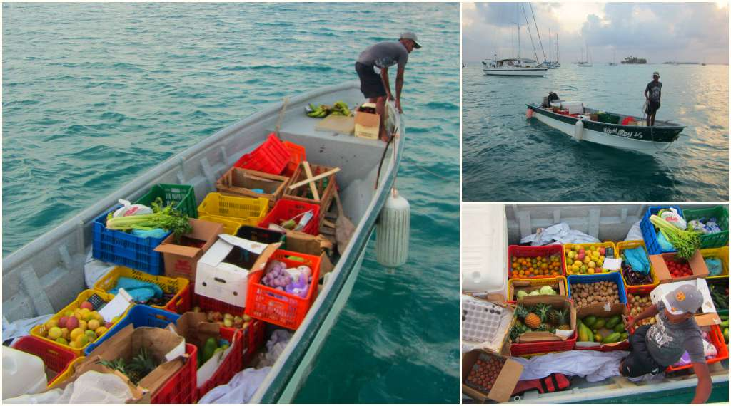 The local supermarket in San Blas, Panama