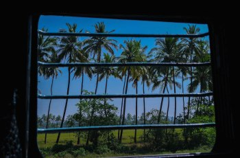 Zugfahren in Goa