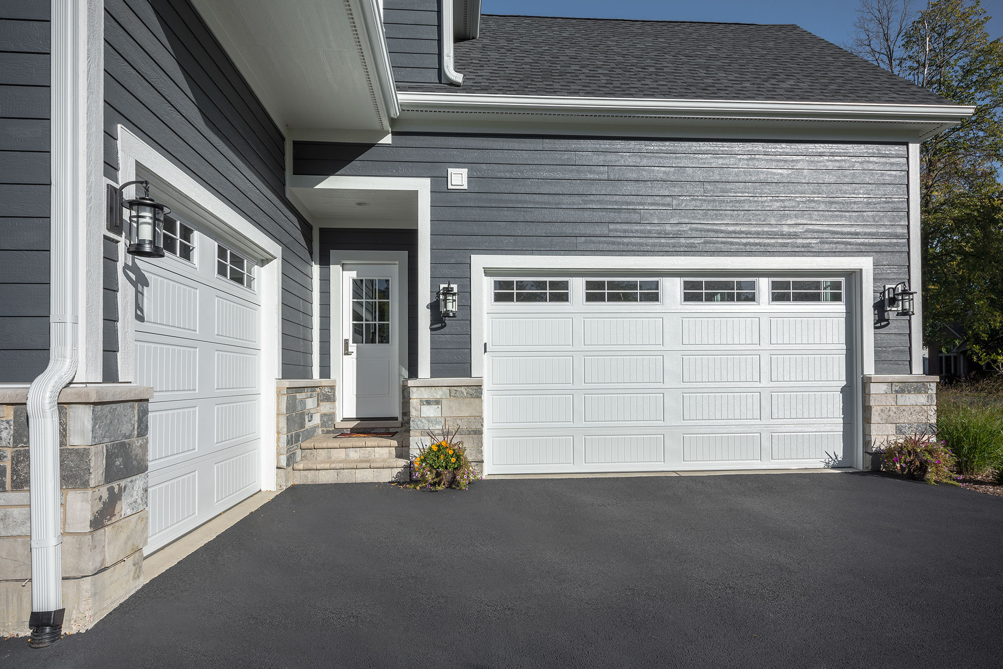 Garage And Front Doors That Match Garage Doors Sales Installation Service Repair Poldoor