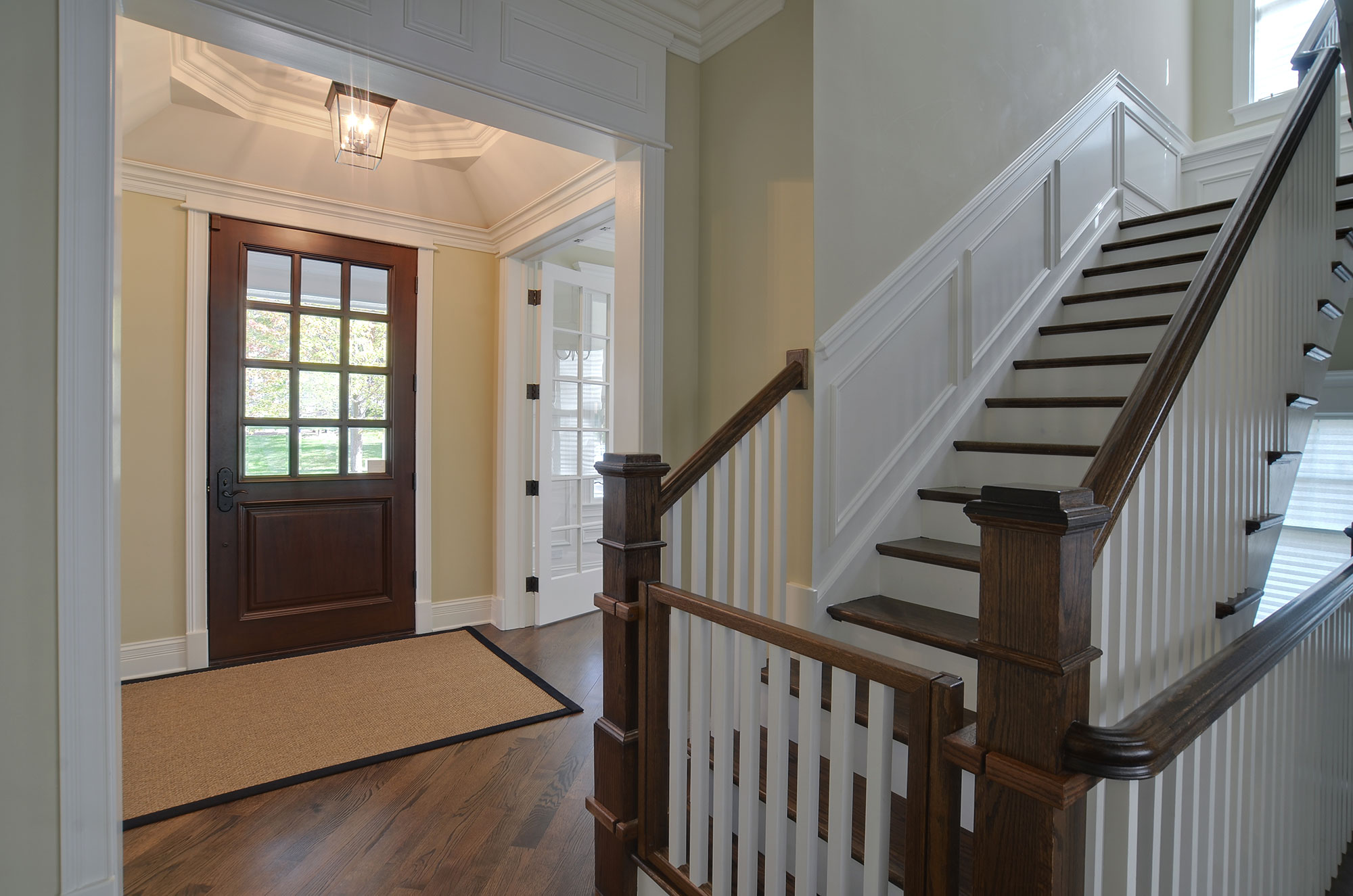 Stairway Door Stair | New Custom Homes | Globex Developments, Inc