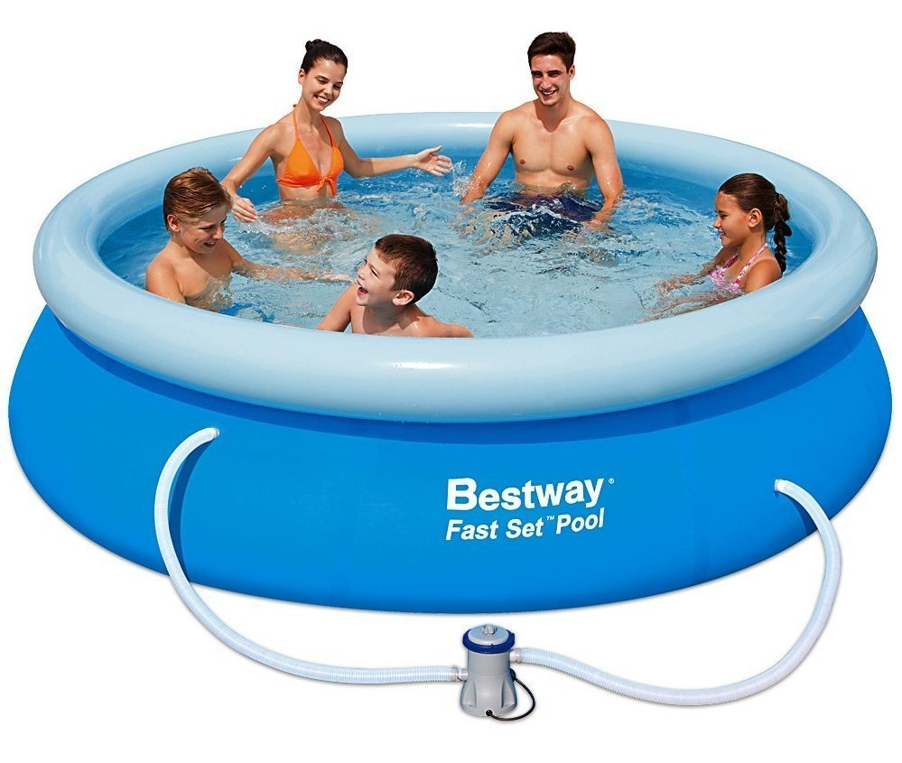 Pool Kaufen Baumarkt Bestway Pool Fast Set