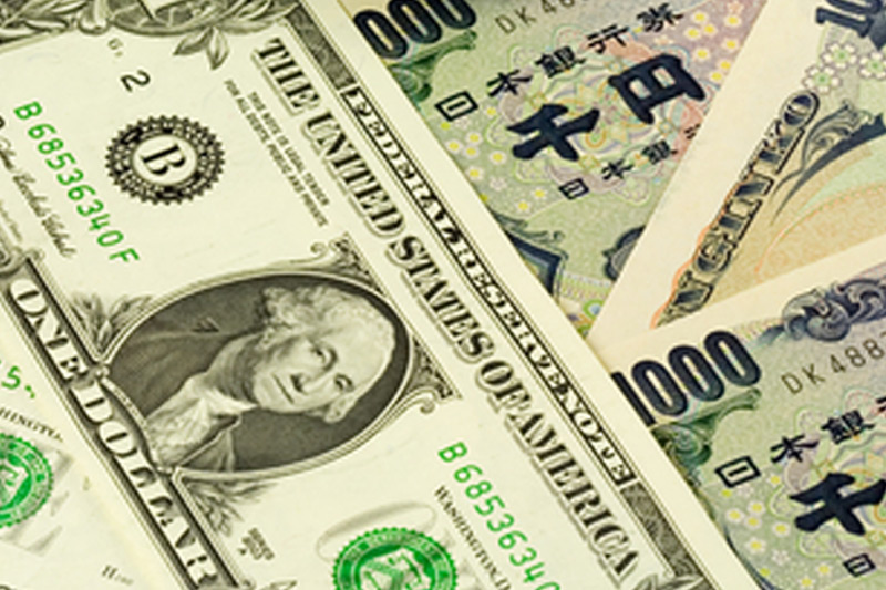 Greenback rises sharply vs. yen with all eyes on BoJ