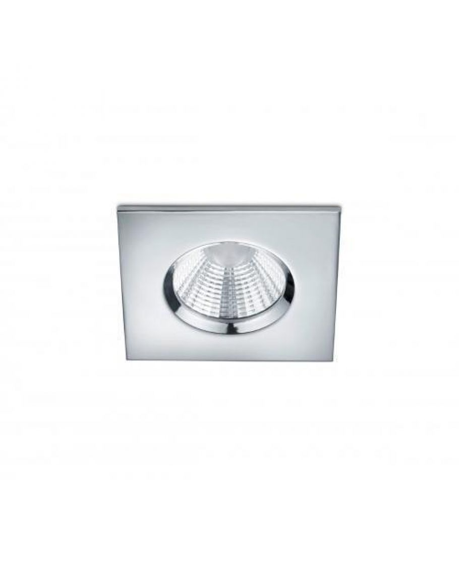 Badkamer Spots Zone 1 Trio International Badkamer Inbouwspot Zagros Incl Led 5 5w 3000k 345lm Chroom