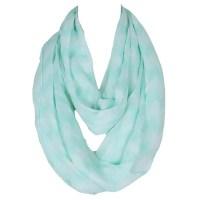 Chic Wavy Stripe Pattern Women's Mint Green Voile Bib ...