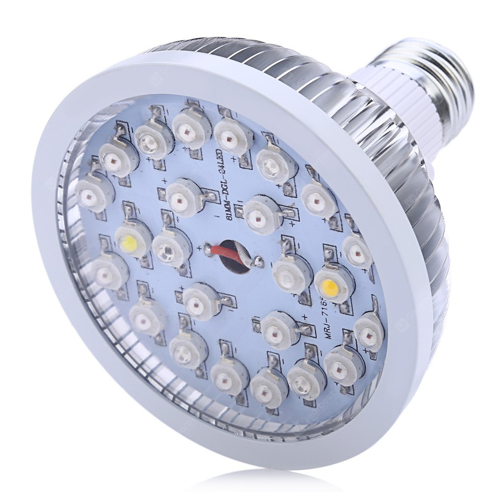 Brelong E27 E14 Gu10 Mr16 36led 2835 Plant Cup Light Ac 220 240v 1pc E27 24w Led Grow Lamp