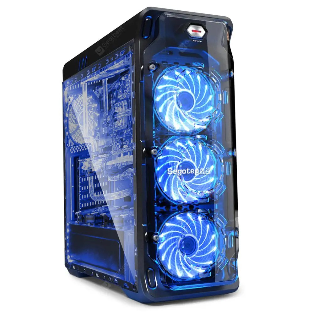 Case Pc Segotep Lux Computer Case Pc Mainframe