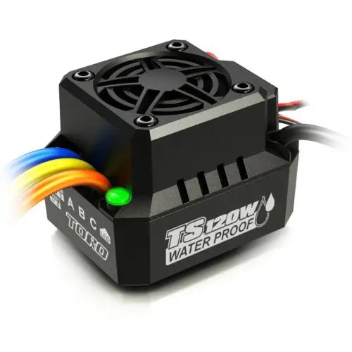 SKYRC TS120W IP67 Waterproof Brushless ESC for RC Car Gearbest