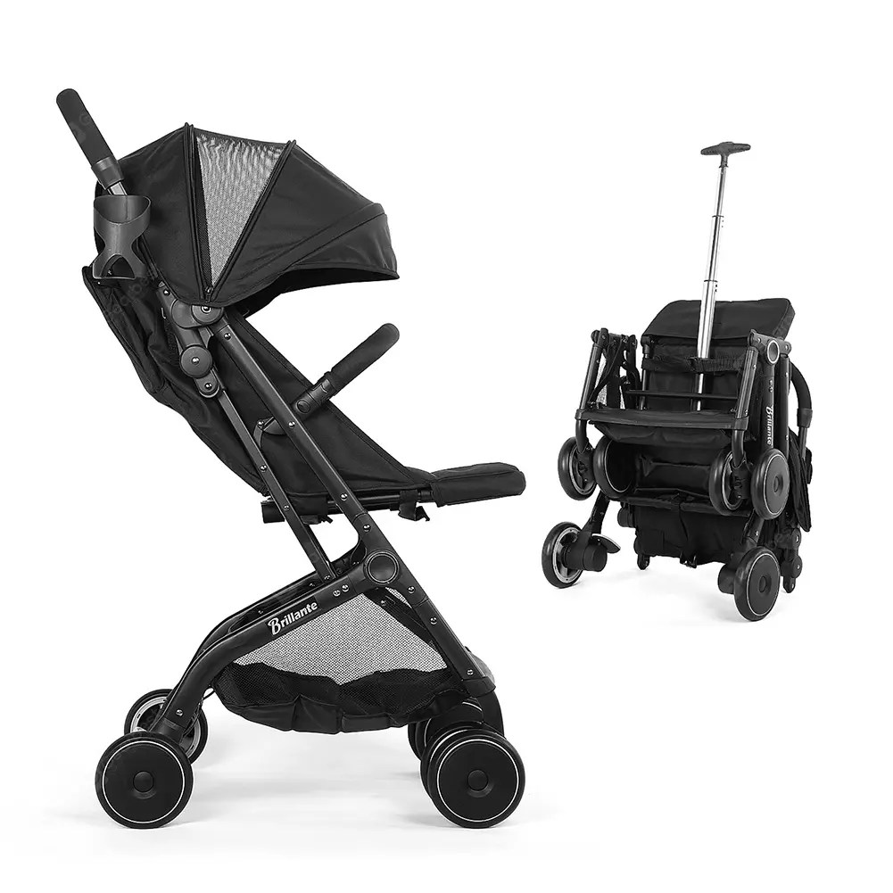 Lightweight Folding Pram Portable Lightweight Baby Strollers Foldable Pram Pushchair Baby Carriage