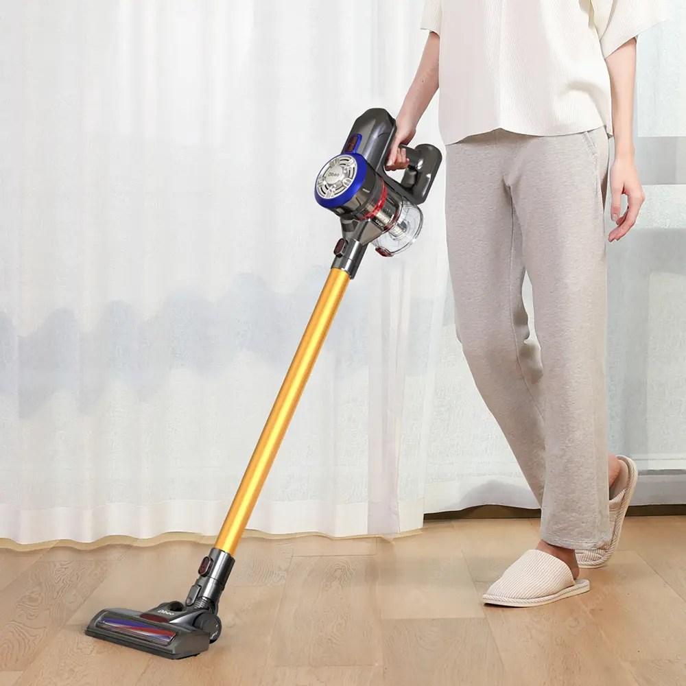 Sofa Vacuum Cleaner Brush Dibea D18 Handheld Vacuum Cleaner With Motorized Brush