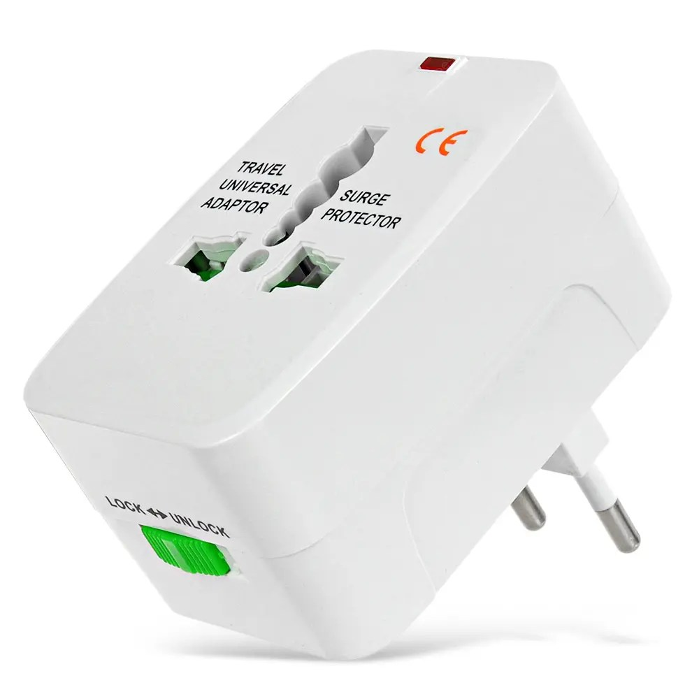 Travel Adapter Eu To Uk Universal Global Travel Power Plug Adapter With Us Eu Uk Au Standard White