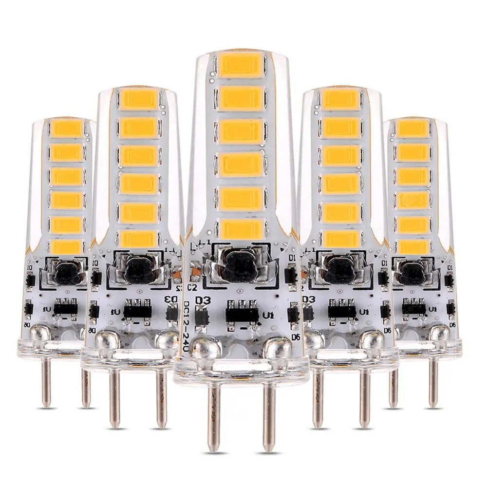 Eclairage Led 12v Maison 5pcs Ywxlight Gy6 35 5730smd Éclairage à La Maison Led Bi Pin Lights Dc 12 24v Ac 12v