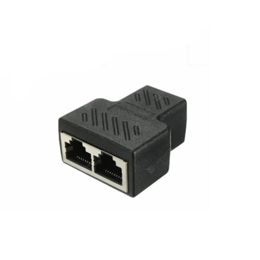 Cable Ethernet Splitter Connector Ethernet Cable Socket Adapter