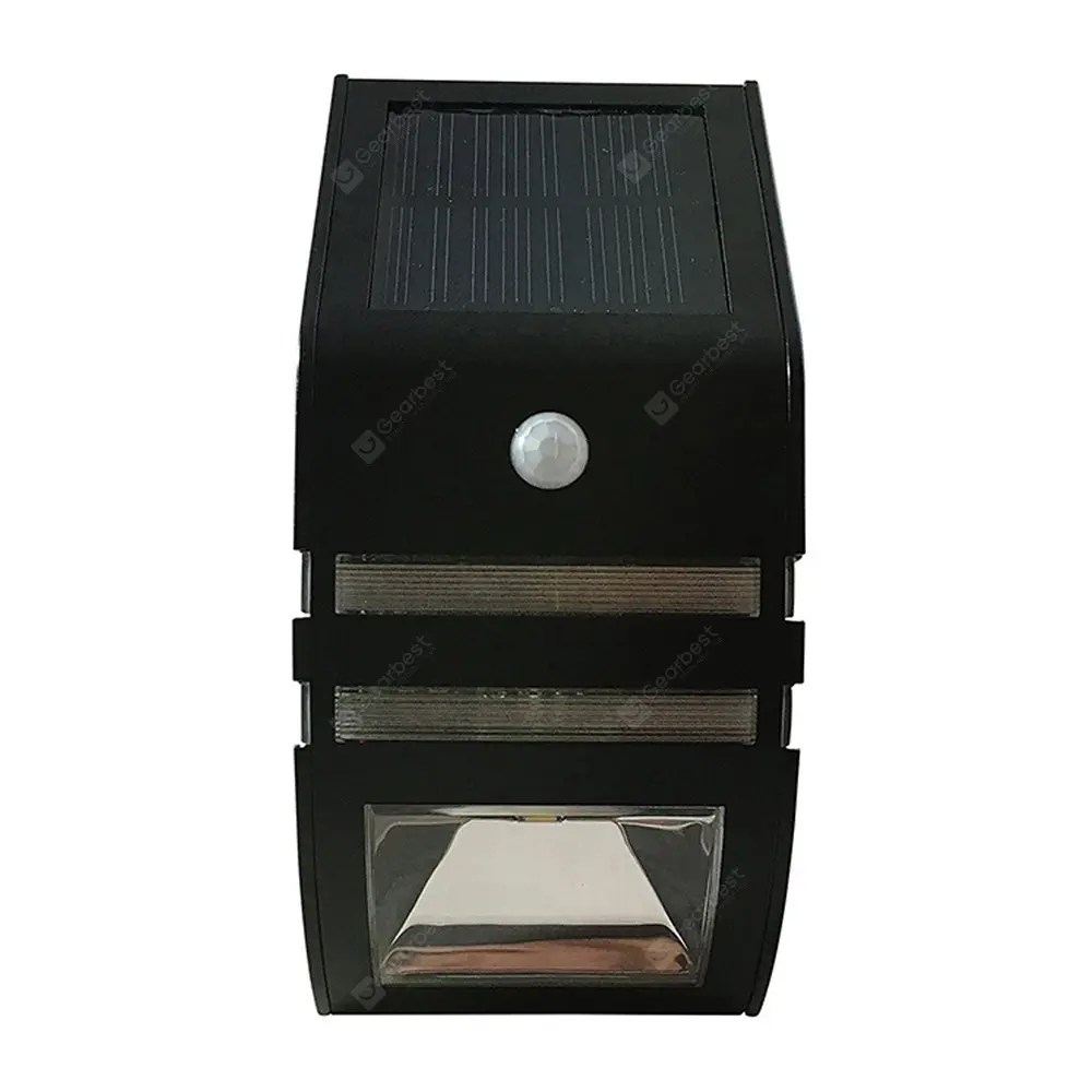 Lamparas Led Para Patios Brelong Solar Led Lámpara De Pared Para Patio Con Sensor