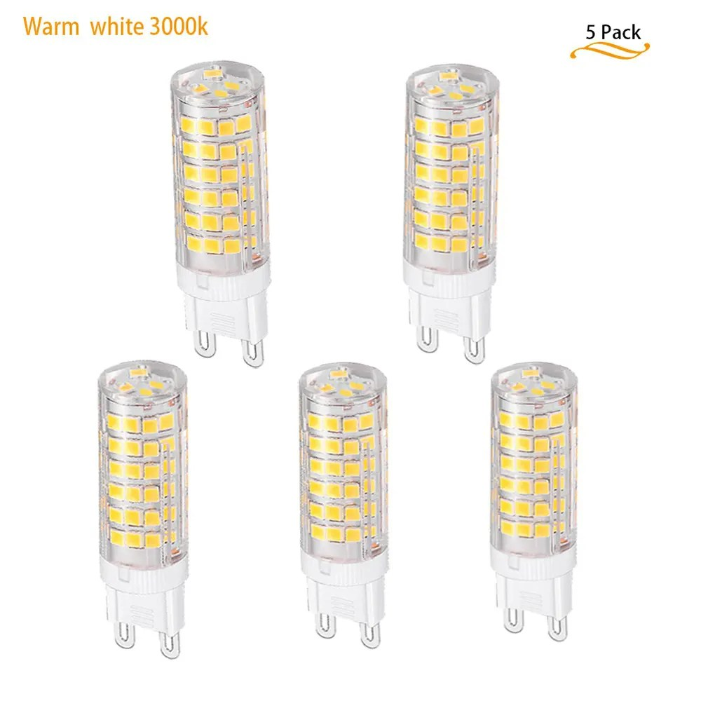 Halogenlampe Led G9 Led Ac220v Led Light 7w High Quality Led G9 76smd Replacement Halogen Bulb